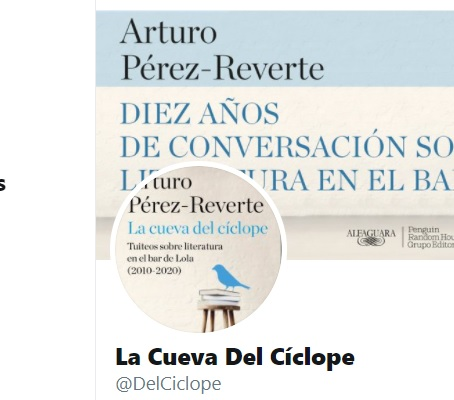 La cueva del cíclope – Arturo Pérez-Reverte. Y sopa de letras de regalo