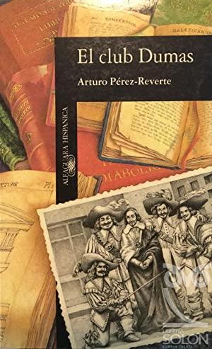 Portada de El Club Dumas de Arturo Pérez-Reverte