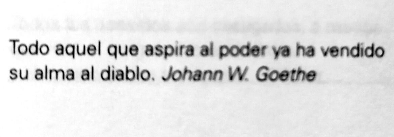 Frase de Johann W. Goethe