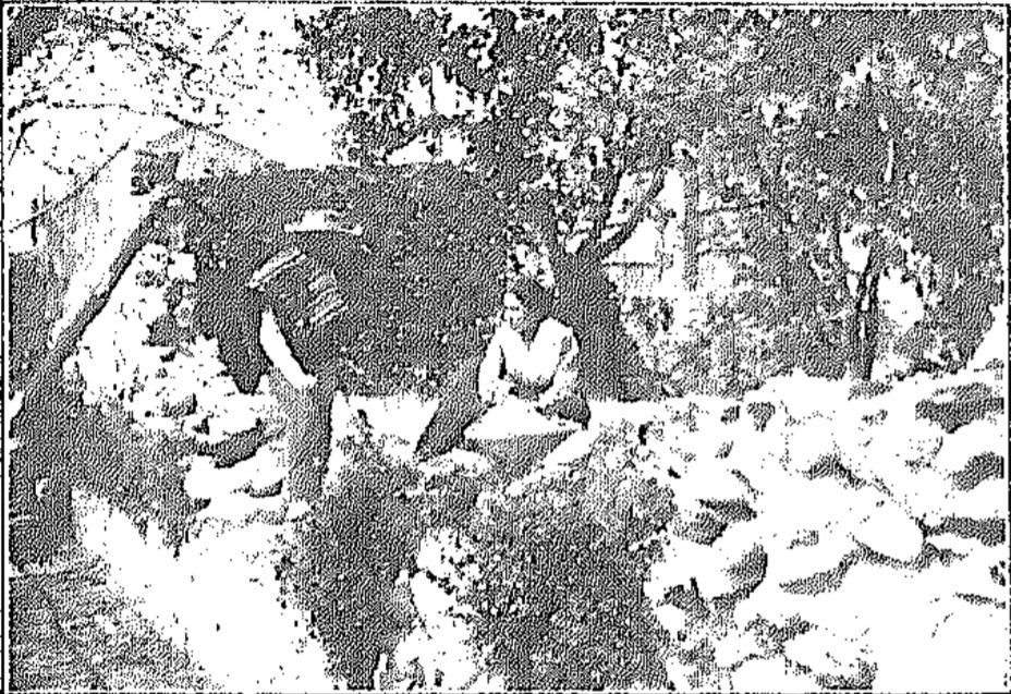 La nenica y el Paco en el brazal el Bando de la Huerta y Vicente Medina lo cuenta
