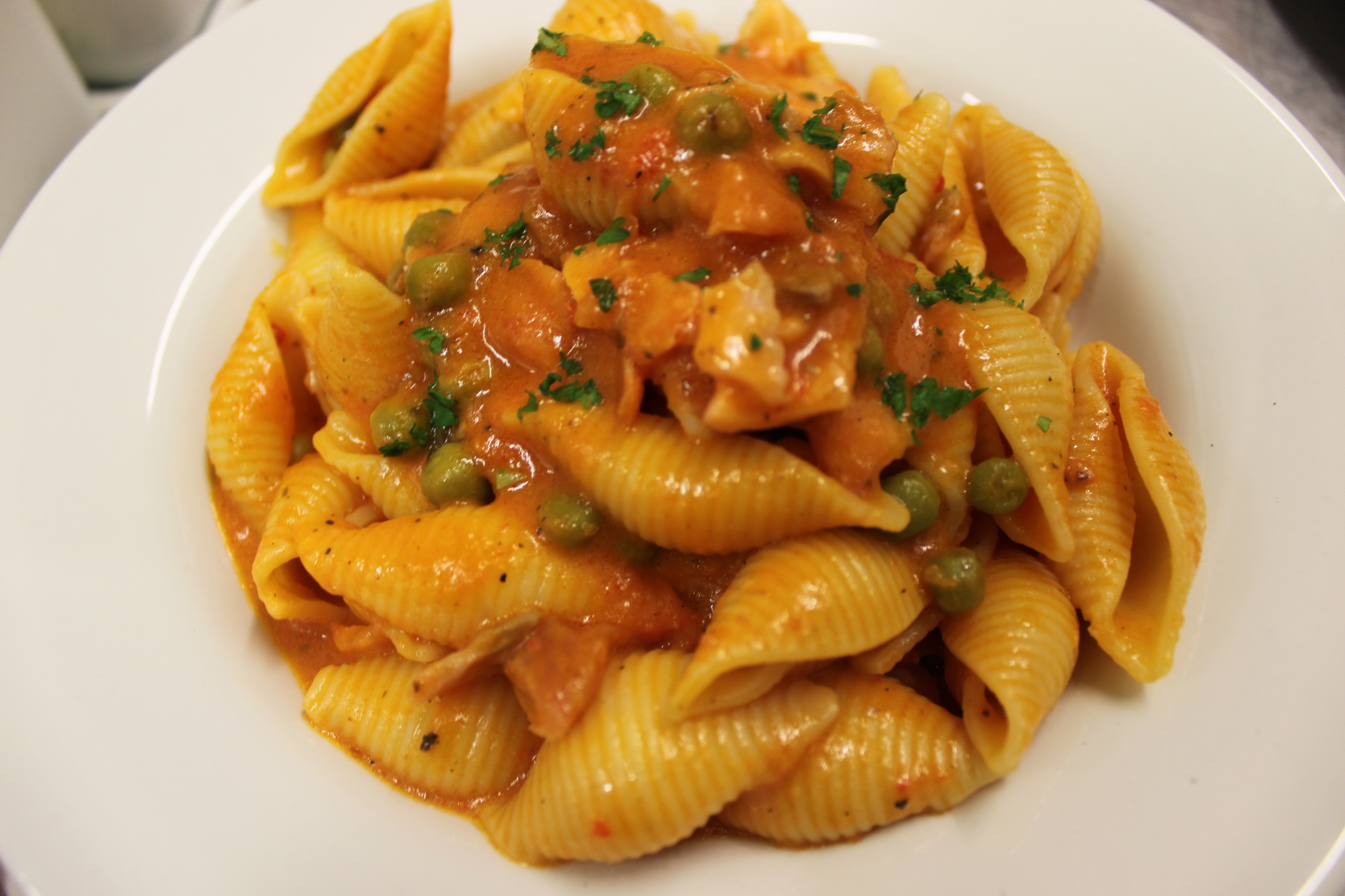Vegetable Shell Pasta