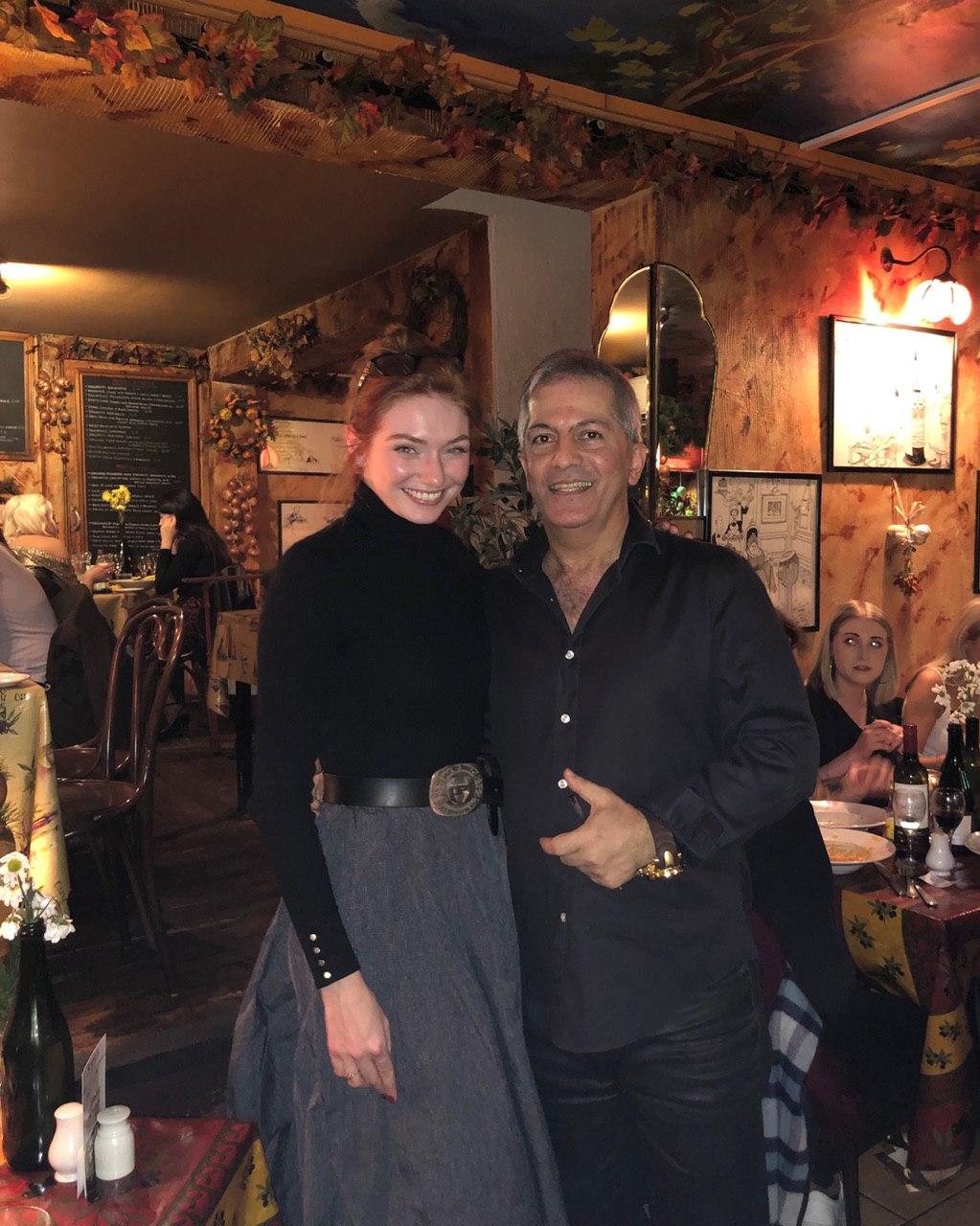 Eleanor Tomlinson at Sergio's