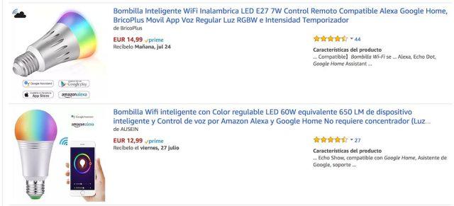 Bombilla para Google Home