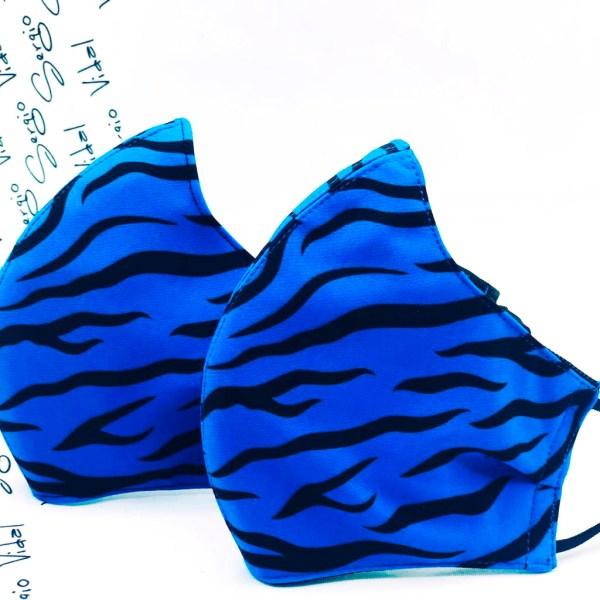 AP0002-Animal Print Azul Tigre