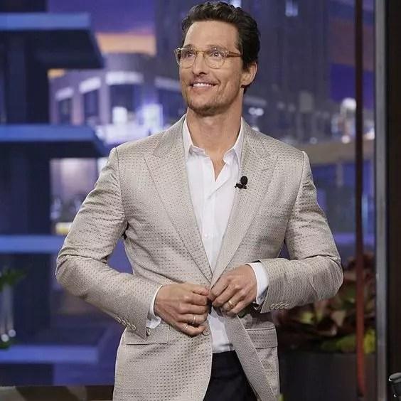 Matthew McConaughey height