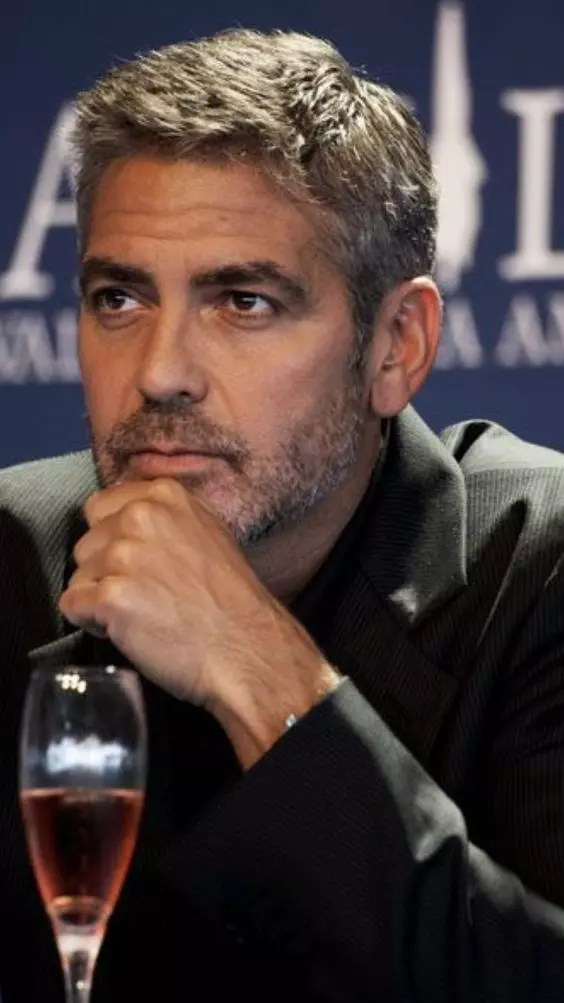 george clooney weight