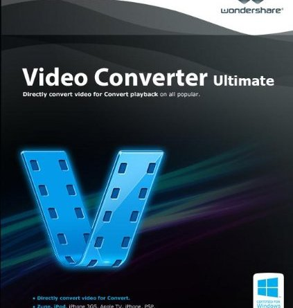 WonderShare Video Converter Ultimate Crack With License Key Free Download