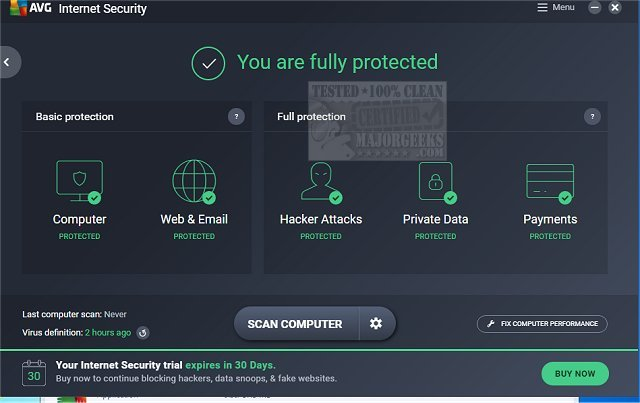 AVG Internet security 19 7 2388 / 19 7 3103 Beta Activation