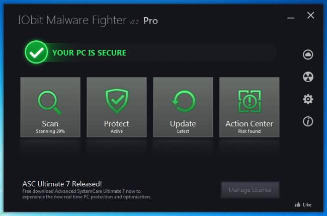 IObit Malware Fighter Pro 7.2.0.5748  Serial Key Full Download