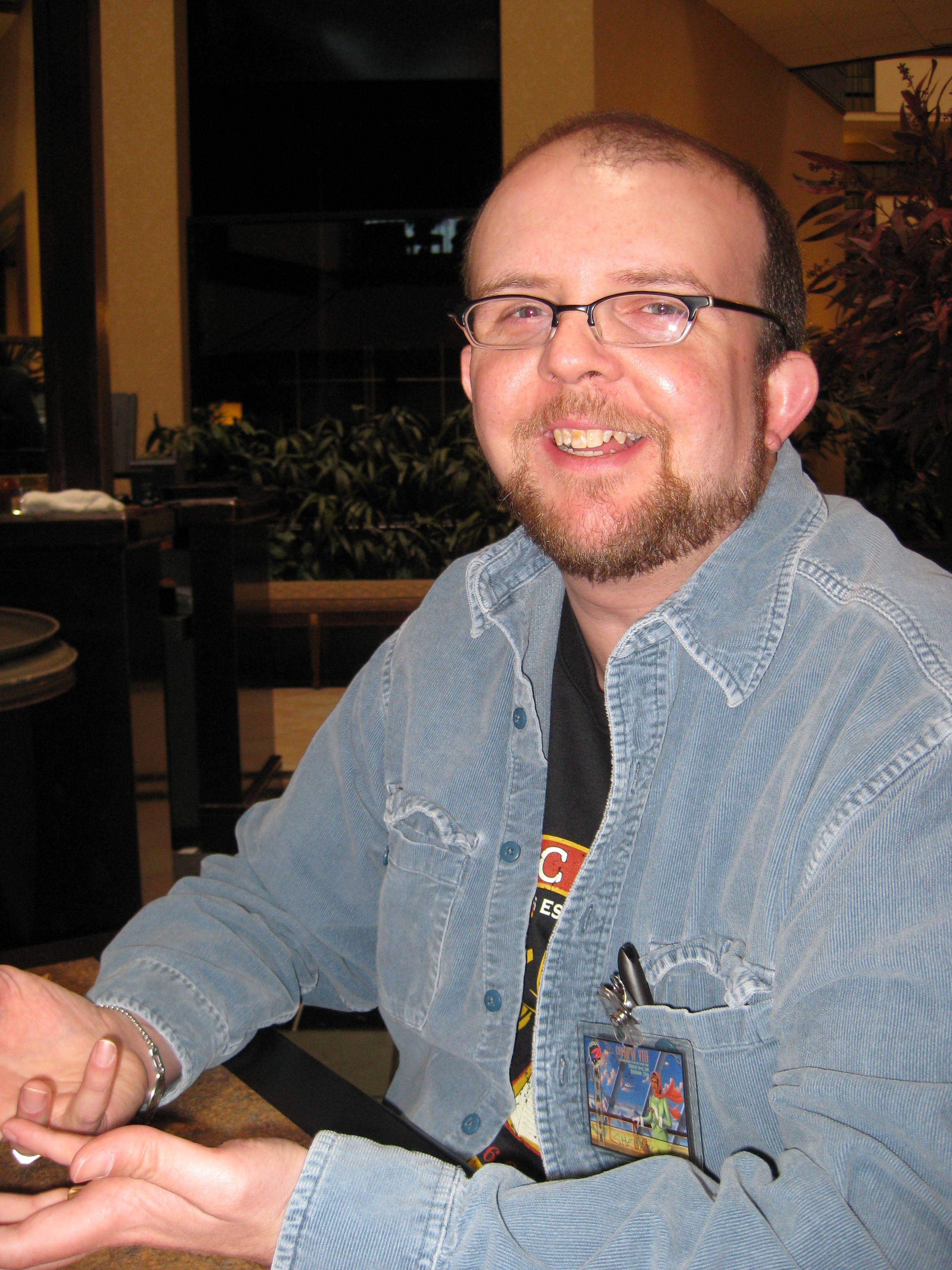 Your author at ConDFW