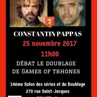 Constantin Pappas est notre deuxième invité du débat Games of Thrones