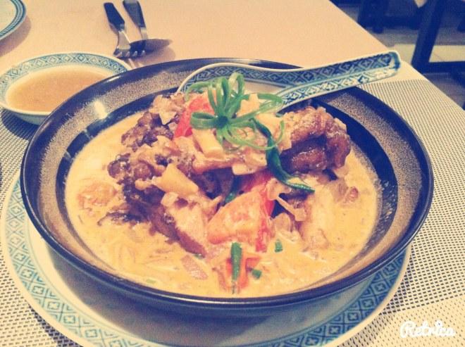 merou sauce curry Tong Abidjan