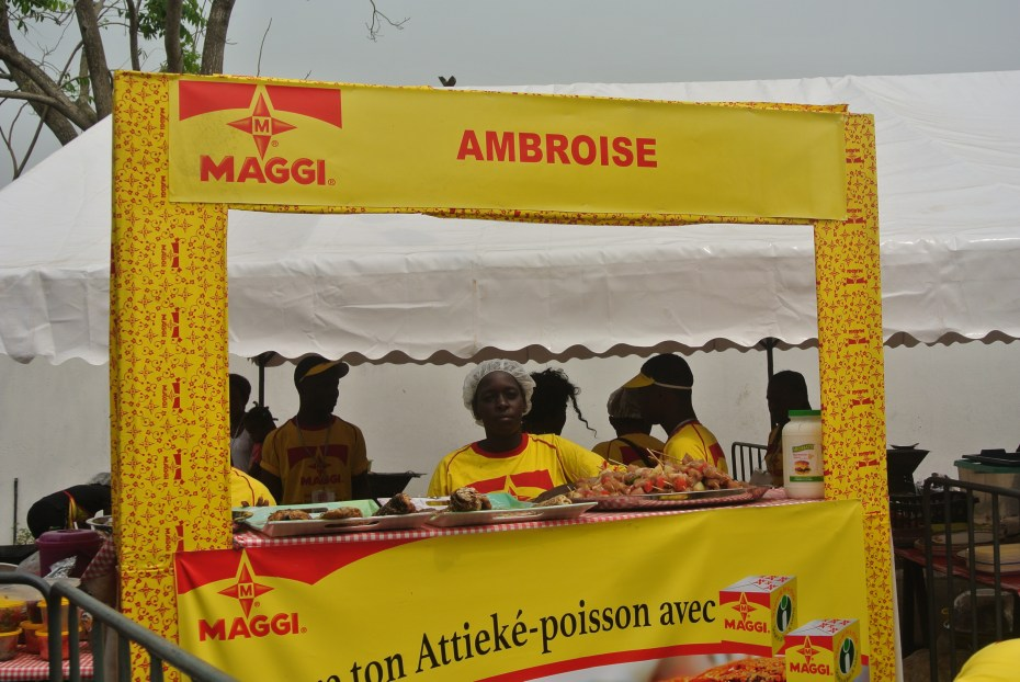 Attiéké Poisson Tour Abidjan 2016