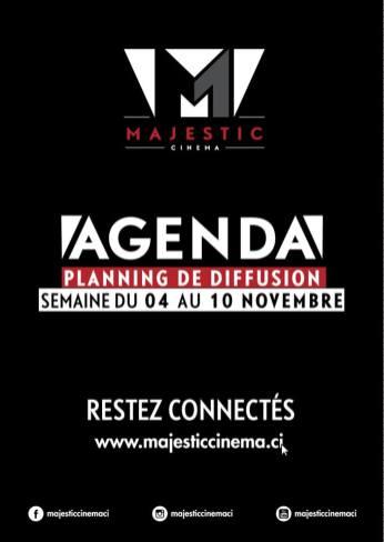 Au Majestic du 4 au 10 novembre, serialfoodie, sur abidjan, cinema
