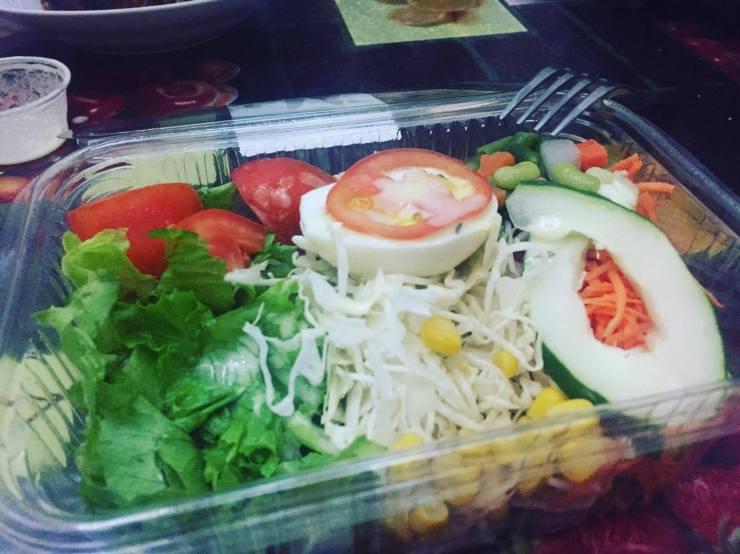 A la découverte de la salade et du poulet rôti de Casino Mandarine, serialfoodie, blog, blogger, food, foodie,