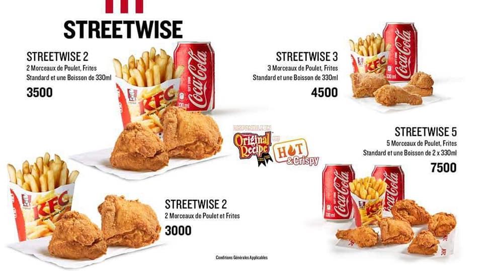 KFC Abidjan dévoile ses prix, on en parle ? serial foodie, critique culinaire, critique restaurant, Abidjan, cote d'ivoire, tripadvisor, petit futé, tourisme, tripinafrica,