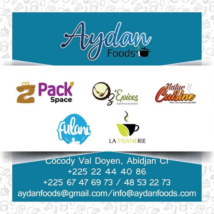 Aydan foods, l'enseigne derrière Fulani, abidjan, serialfoodie, critique gastronomique, Cote d'Ivoire