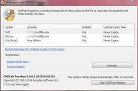 DVDFab Passkey Lite 9.3.6.3 Crack & Premium Keygen 2020