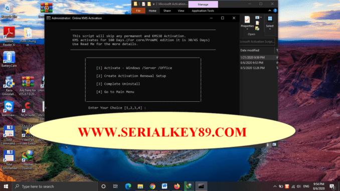 Microsoft Activation Scripts 1.3
