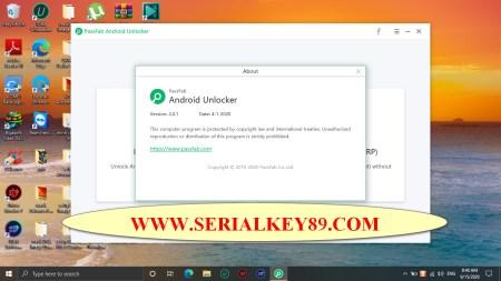 PassFab Android Unlocker 2.0.1.1