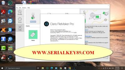 Claris FileMaker Pro 19.2.2.234