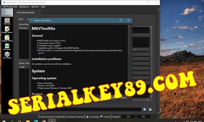 MKVToolnix 57.0.0