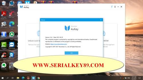 Tenorshare 4uKey 2.4.2.4