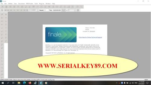 MakeMusic Finale 27.0.0.708
