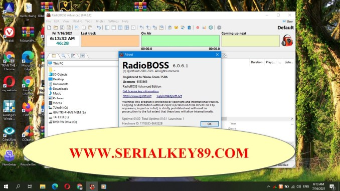 RadioBOSS Advanced 6.0.6.1