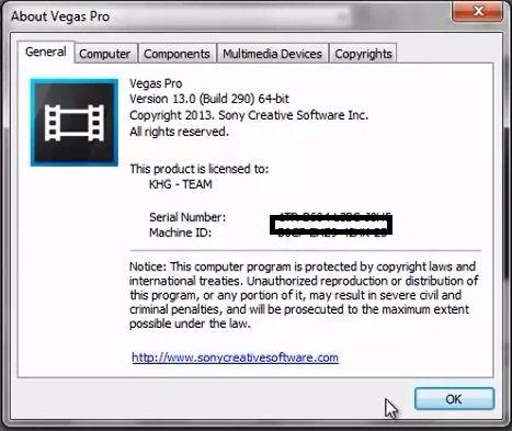 download sony vegas pro 13 32 bit crack