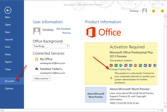 MS Office 2013 free