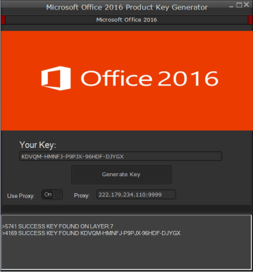 Microsoft Office 2016 Serial