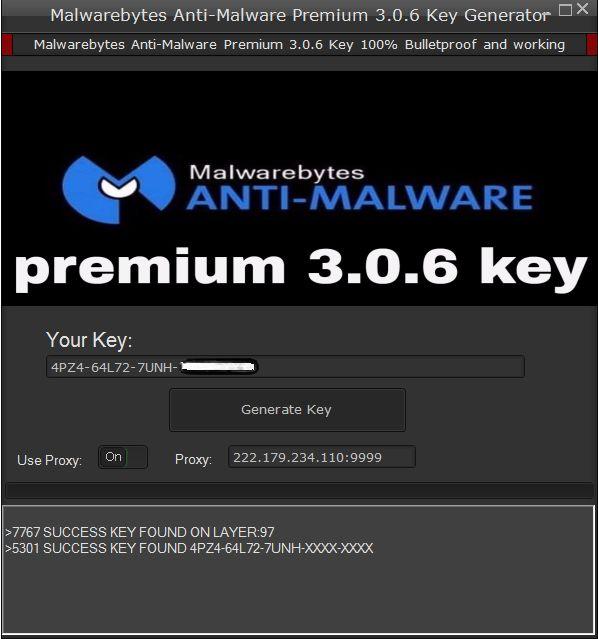 malwarebytes id and key free