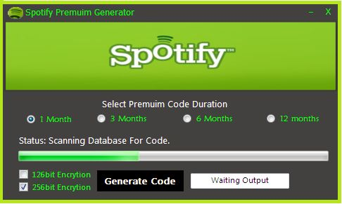 How To Get Spotify Premium Code Generator For Free 2017 ...