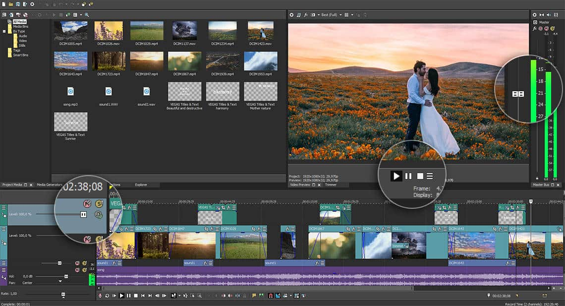 Sony Vegas Pro 15 2018 Crack Keygen Full Serial Number Free