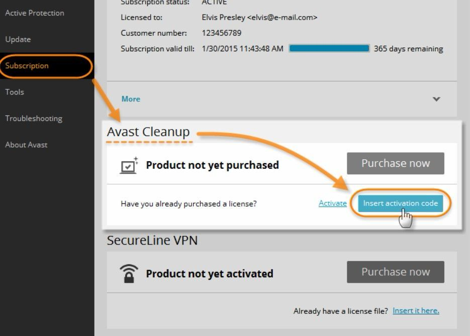 Avast Cleanup Premium Activation Code Full License Key ...