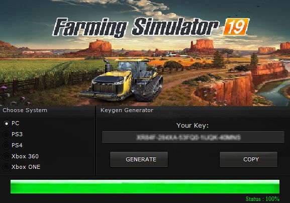 Farming Simulator 19 Activation Key 2020