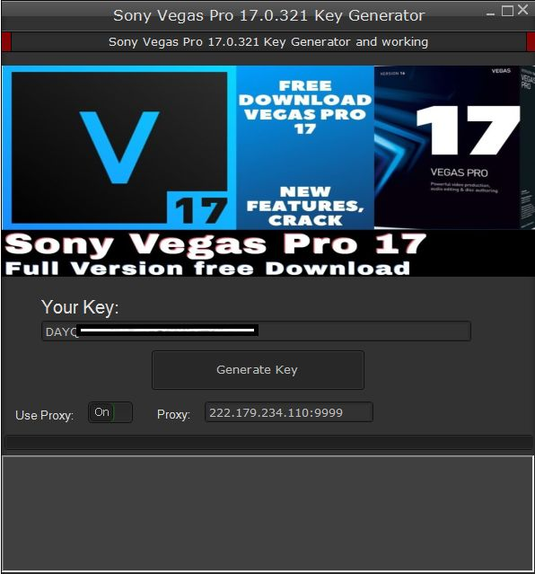 Sony Vegas Pro 17 Key Generator 2020