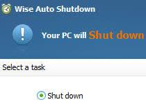 Wise Auto Shutdown 1.65