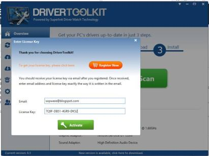 DriverToolkit 8.5.1 License Key + Crack {Emails} 100% Working