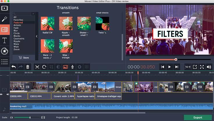 Movavi  Video Editor 15 Plus New Release
