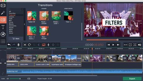 Movavi Video Editor Crack 21 With Activation Key Full Version