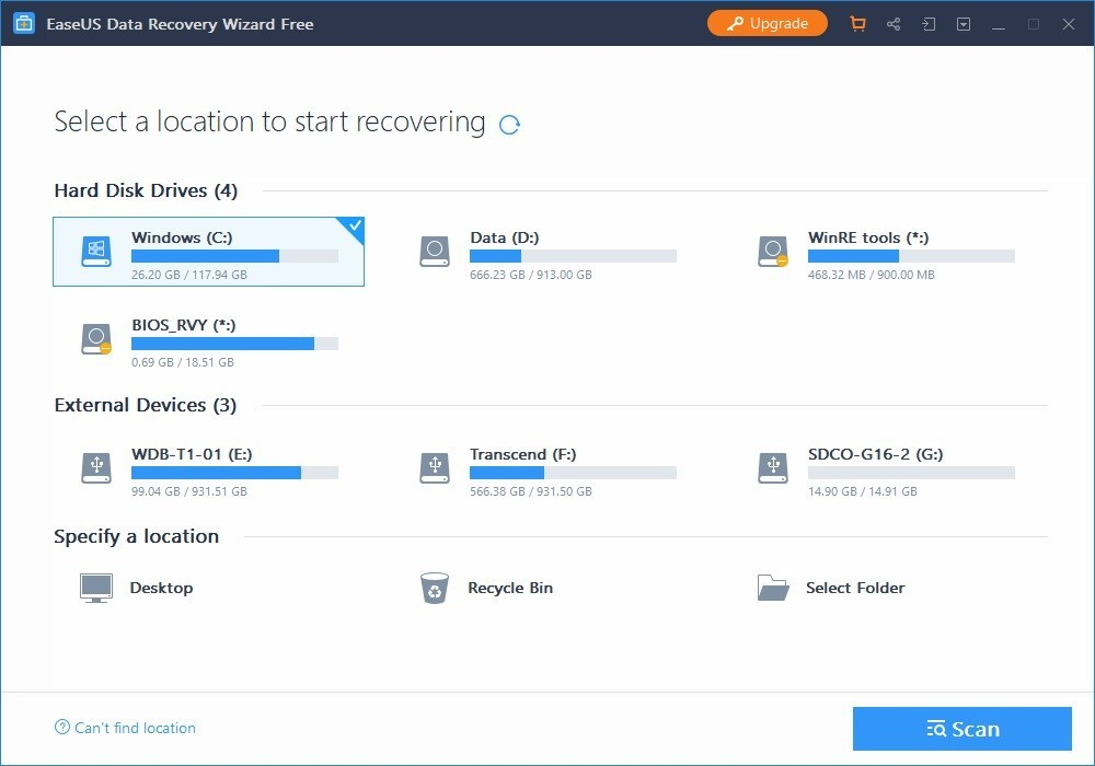 Lifetime License with updates EaseUS Mac Data Recovery Wizard