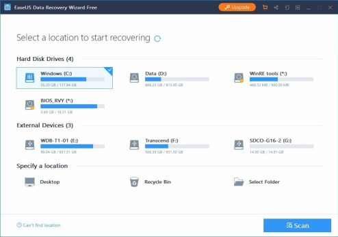 easeus data recovery software free download with crack