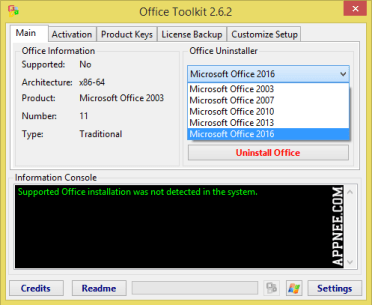 Microsoft Toolkit 2.6.7 Official™ Windows & Office