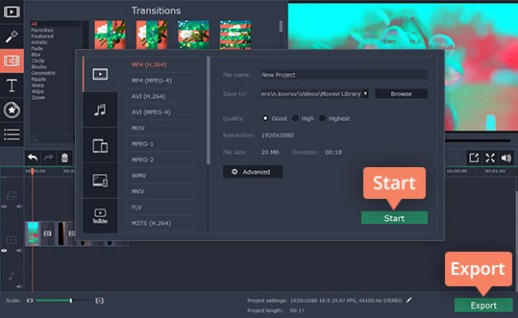 Movavi Video Editor Activation Key 20.0.0 Updated 100% Work