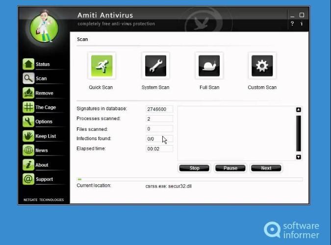 NETGATE Amiti Antivirus 25.0.660 (2020) Crack + License KEY Free