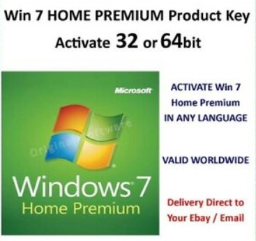 Windows 7 Home Premium Product key 32/64bit Free For You