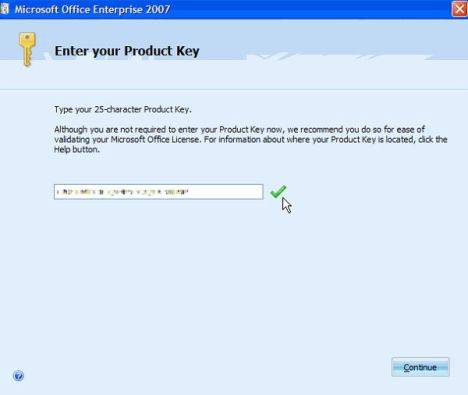 Microsoft Office 2007 Product Key + Crack [ALL EDITIONS]