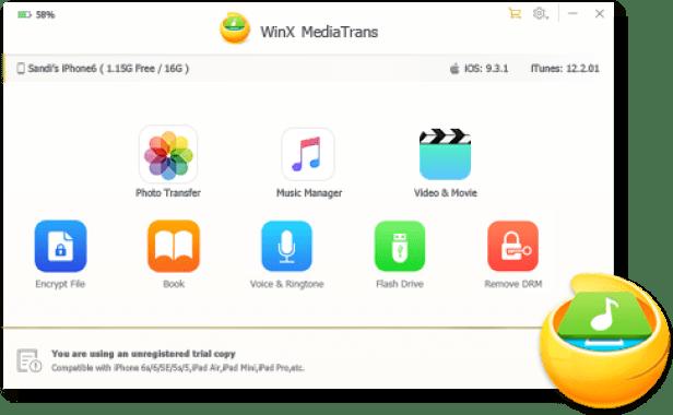 WinX MediaTrans 7.5 Crack + Torrent Download [Full + Final]